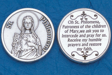 St. Philomena Pocket Token